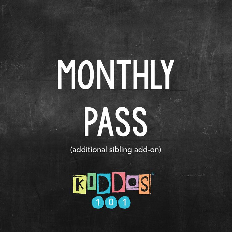 The Monthly pass: Additional Sibling